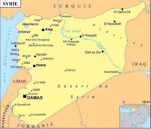 Irak et Syrie ou l'arnaque occidentale de l'EI  - Page 4 Carte_Syrie1