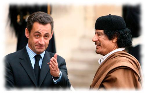 Kadhafi Sarkoxy